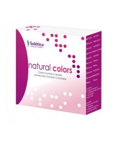 Lentes de Contato Natural Colors Coloridas Uso Anual Sem Grau Par