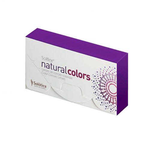 Lentes de Contato Solflex Natural Colors Mensal Sem Grau Par