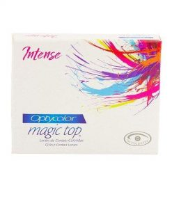 LENTE DE CONTATO Optycolor Magic Top Intense -Sem Grau