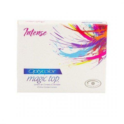 LENTE DE CONTATO Optycolor Magic Top Intense -Sem Grau