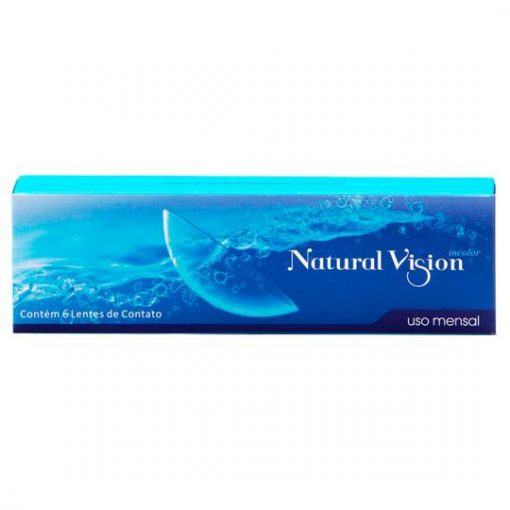 Lente de Contato Natural Vision - Uso Mensal